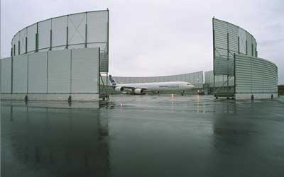 Ground Run Up Enclosure in Toulouse
