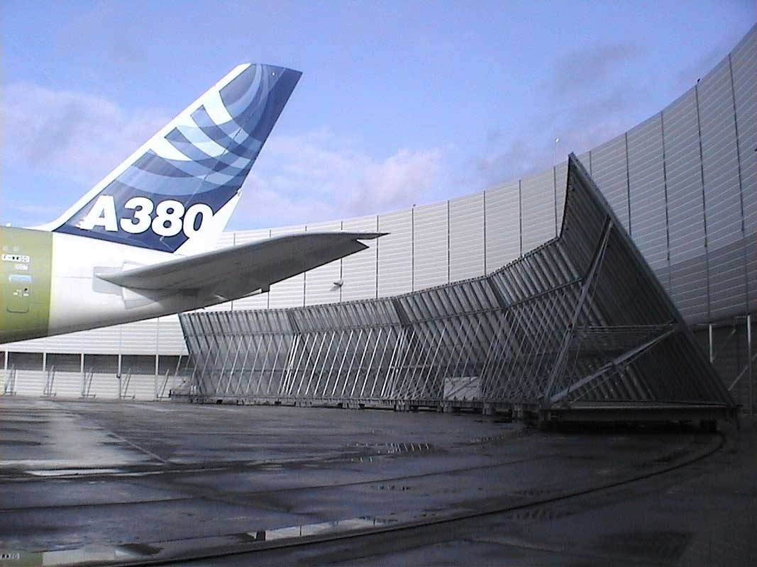 Ground Run Up Enclosure for A380